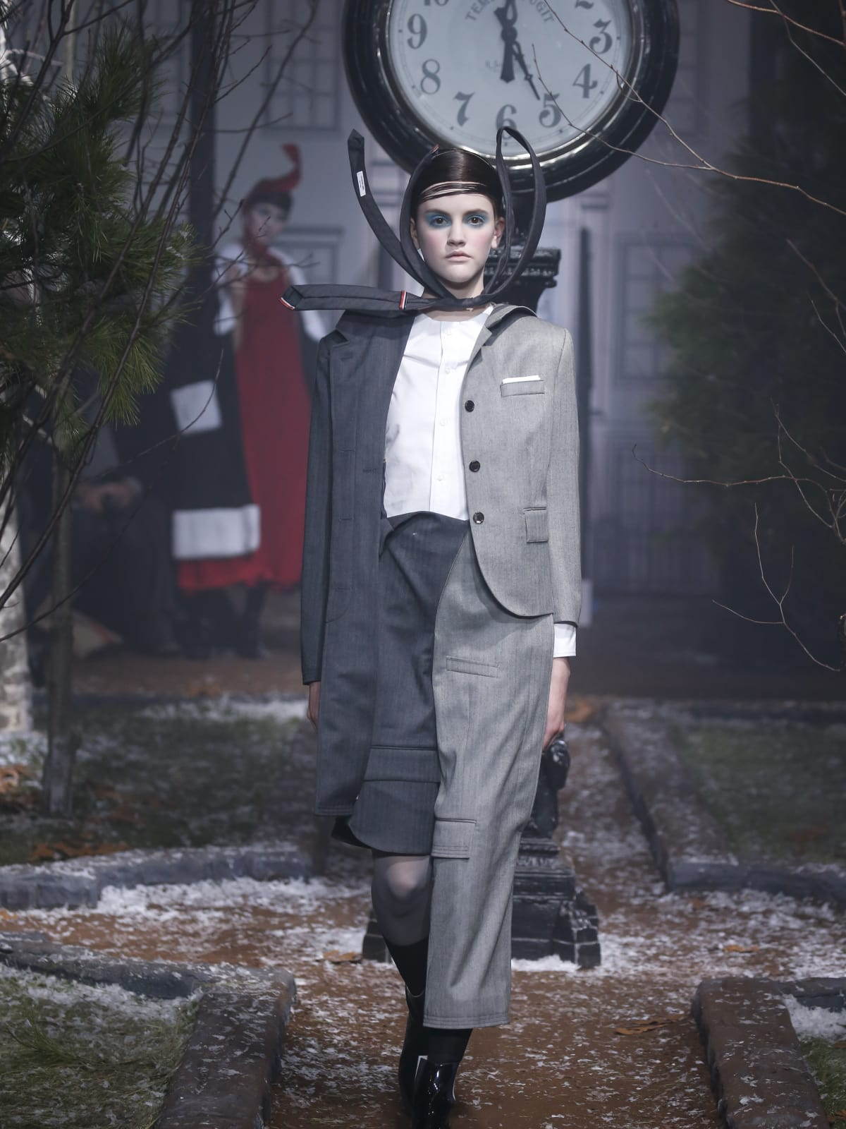 Thom Browne fall 2016 collection look 23