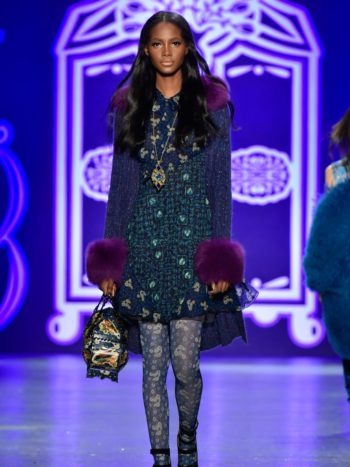 Anna Sui fall 2016 look 11