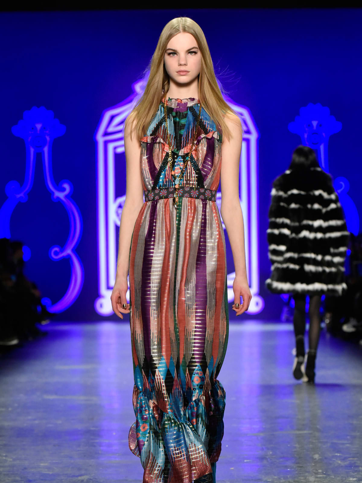 Anna Sui fall 2016 look 25