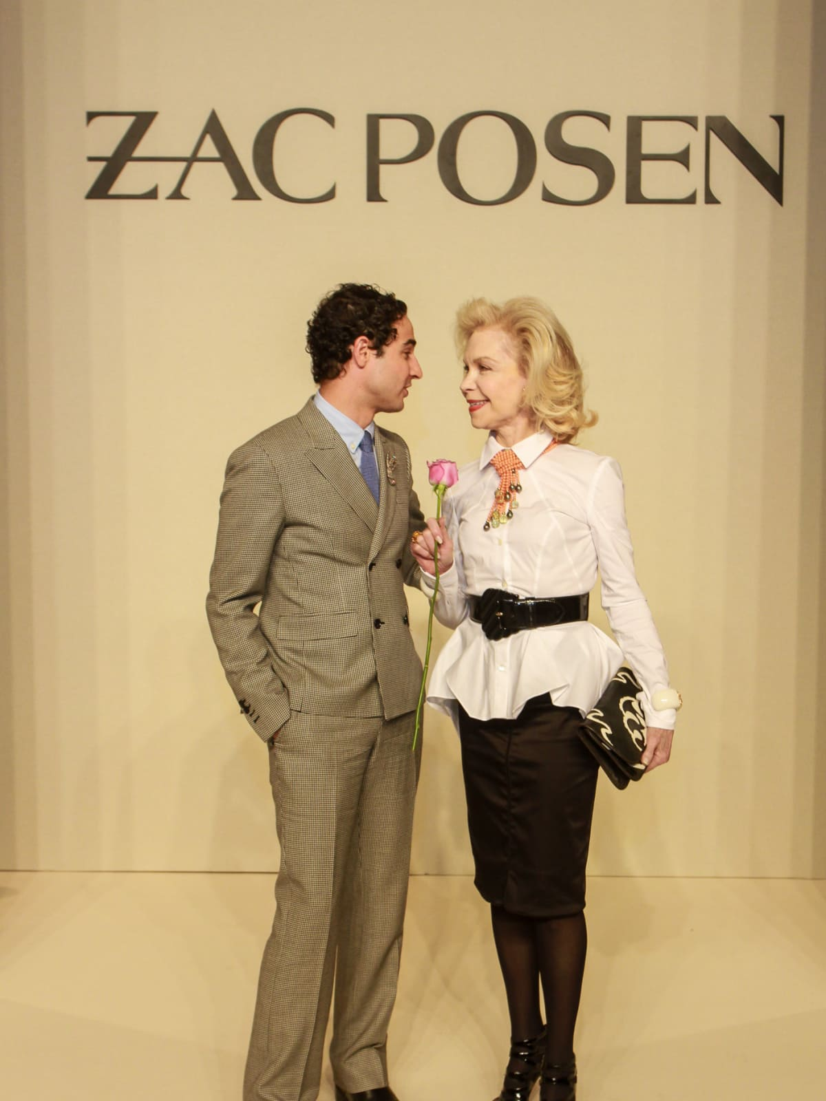 Best Dressed Luncheon, March 2016, Zac Posen, Lynn Wyatt
