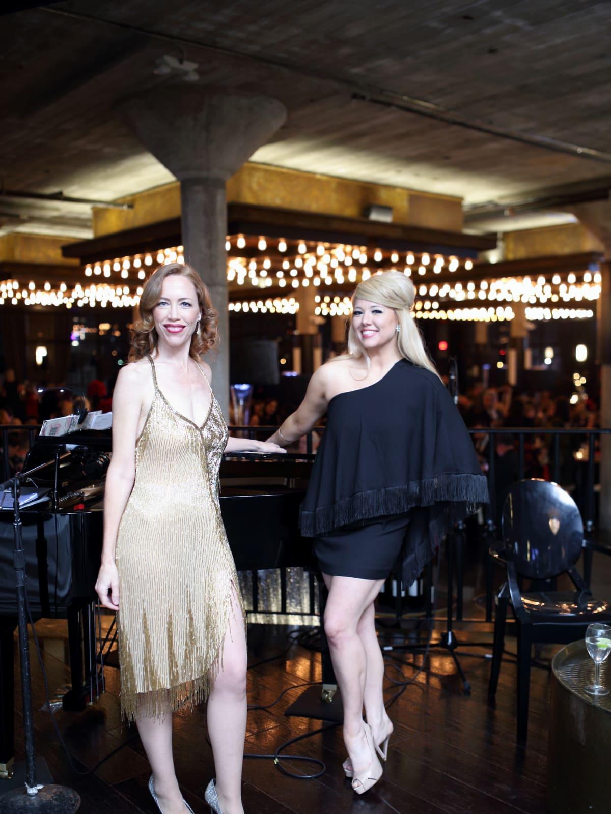 Carolyn Johnson, Holland Varva at Stages Gala