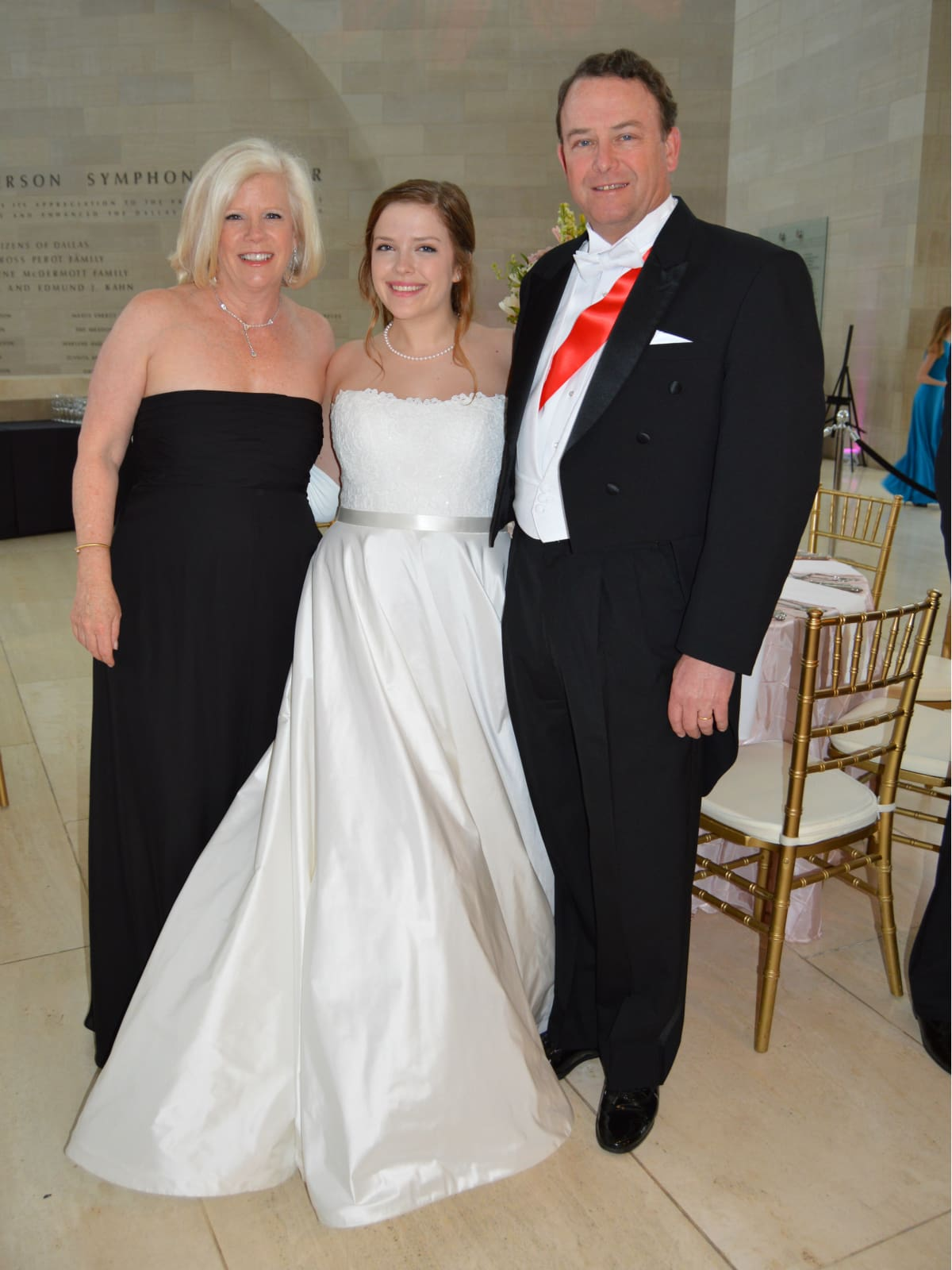 Mary, Megan and Tim Rooney