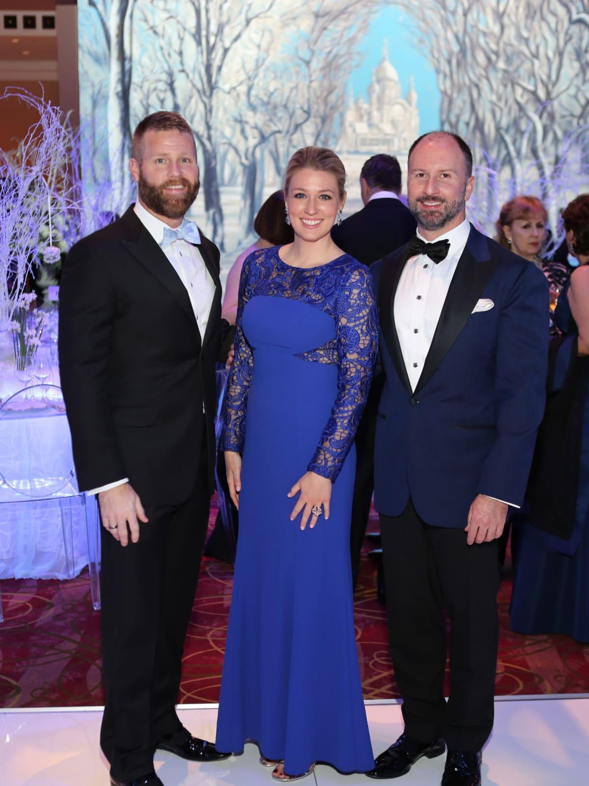 Houston Ballet Ball, Feb. 2016,  Kevin Black, Christina Stith, Tony Bradfield