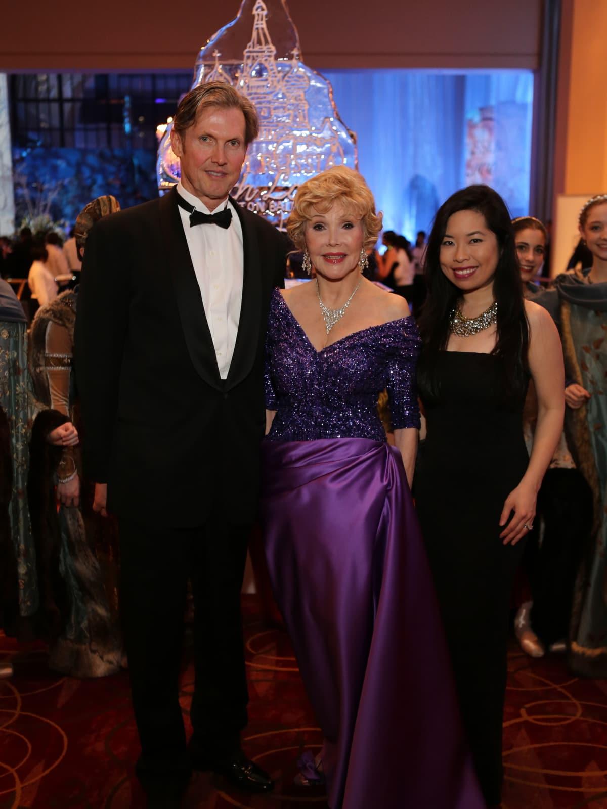 Houston Ballet Ball, Feb. 2016, Beau King, Joanne King Herring, Becky Holland