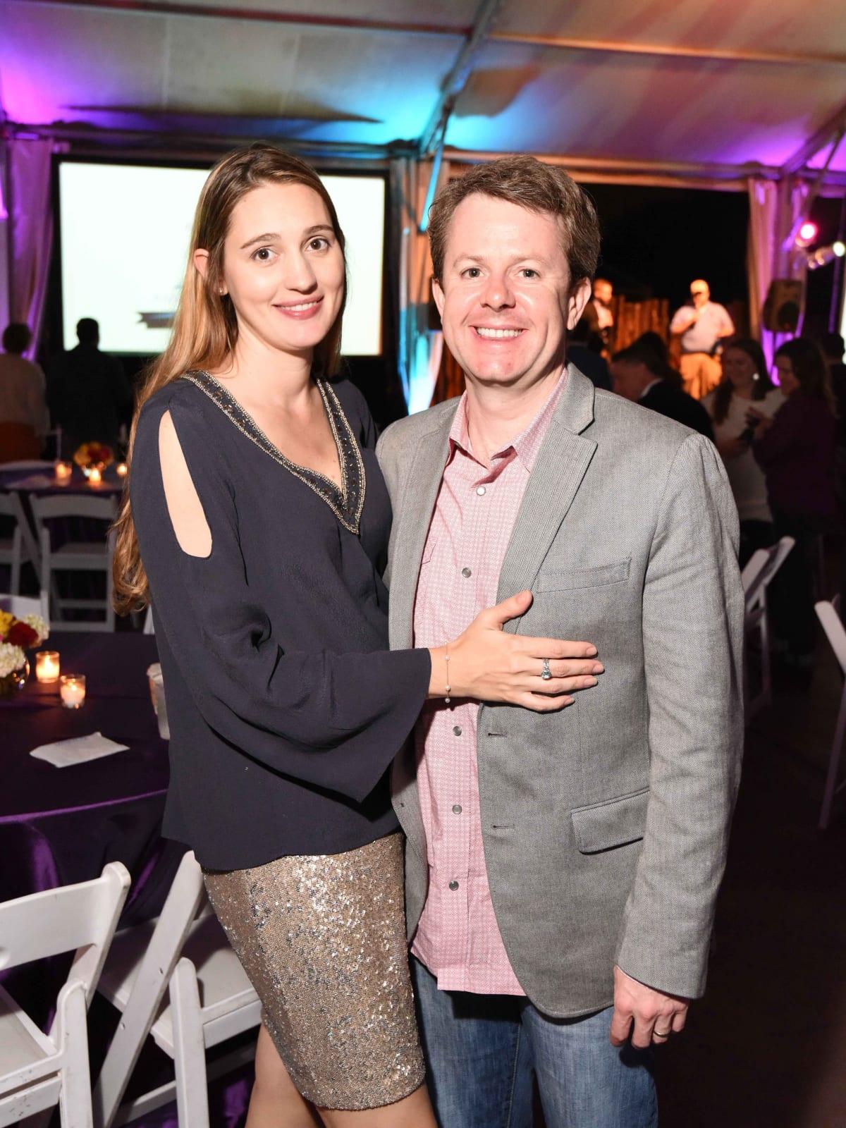 Houston Zoo Ambassadors Gala Angela and Dath Collins