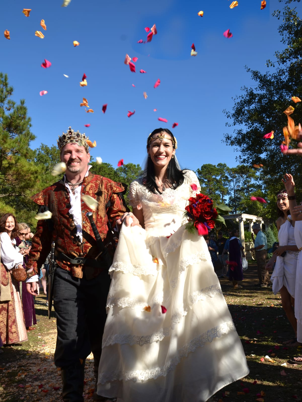 Renaissance Festival Weddings, Feb. 2016 Logan Knight, Sarah Wheeler
