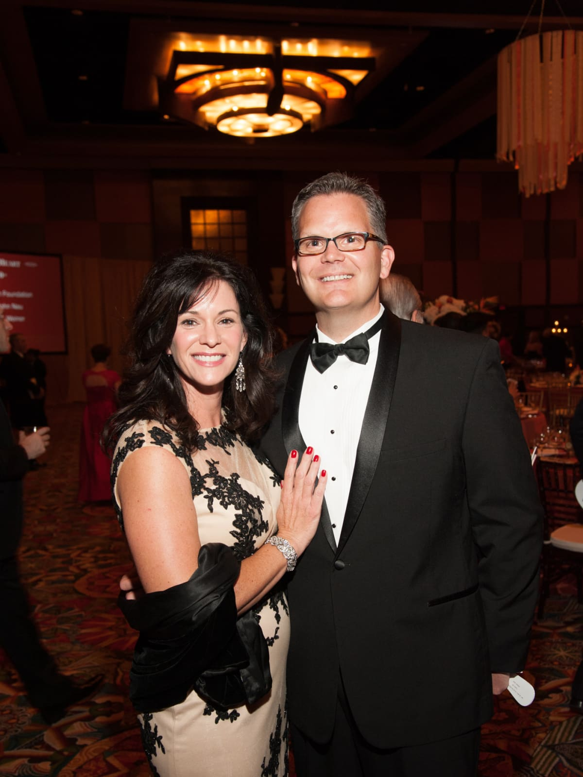Heart Ball, Feb. 2016,  Melissa Lyles, Scott Lyles