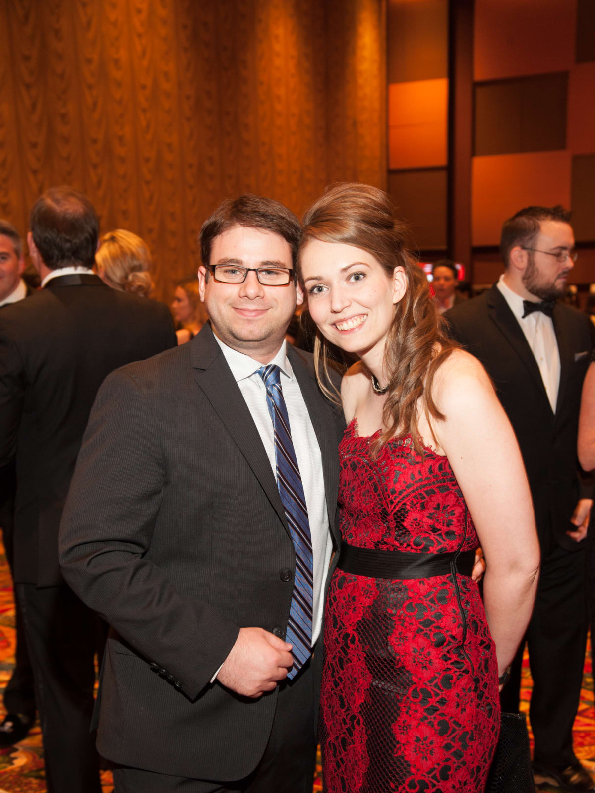 Heart Ball, Feb. 2016, Thomas Stenack, Catherine Brooker