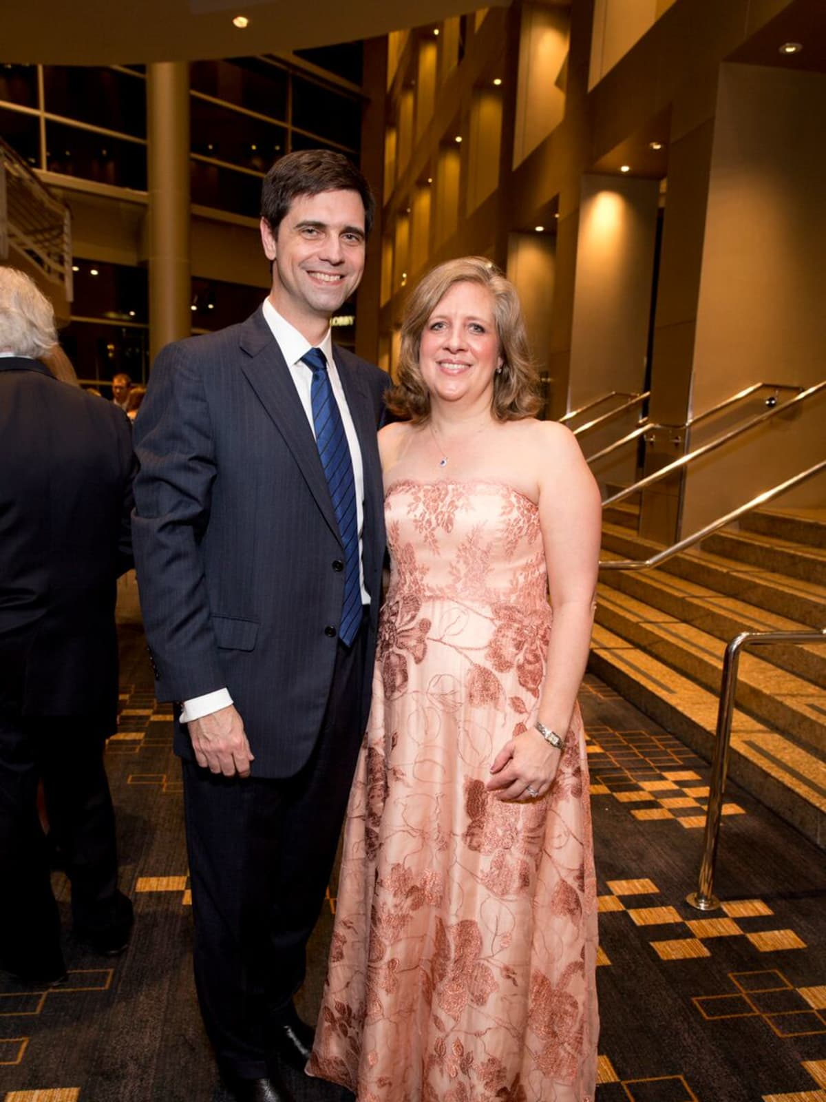 Tennis gala, Feb. 2016, Douglas Pritchett, Lara Lehmann