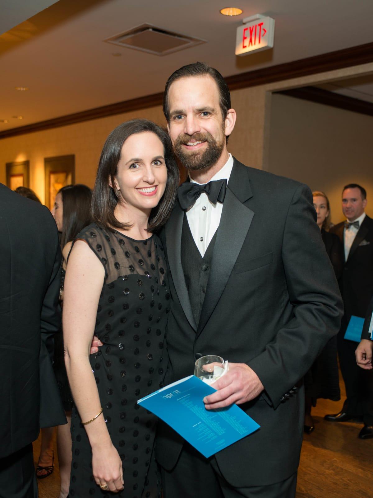 Mary S. Dawson and Jack Dawson at Inprint Gala