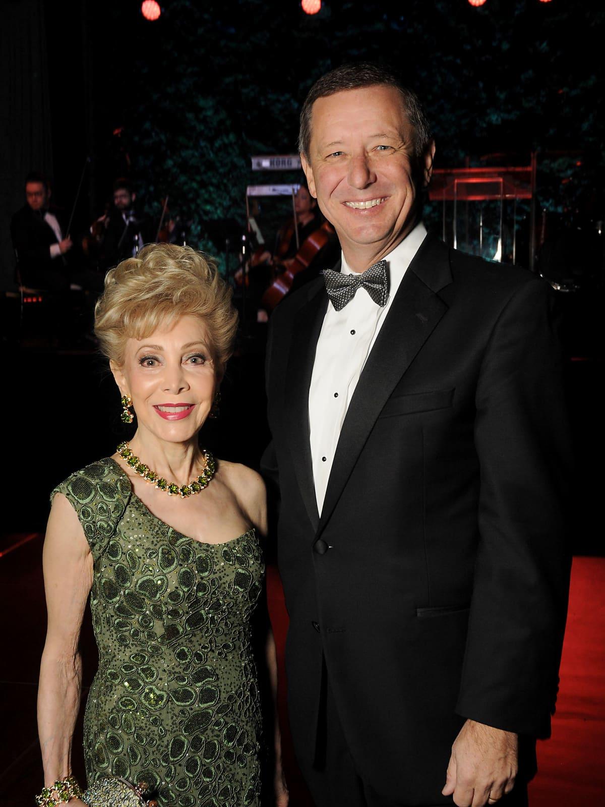 Discovery Green, Gala on the Green, Feb. 2016,  Margaret Alkek Williams, David Wuthrich