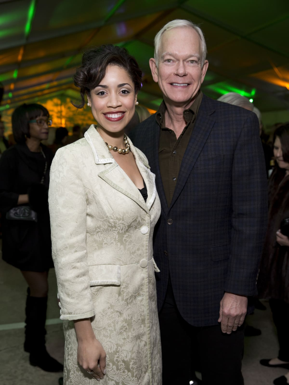 Memorial Park Conservacy Gala, Feb. 2016, Amanda Edwards, Jay Jones