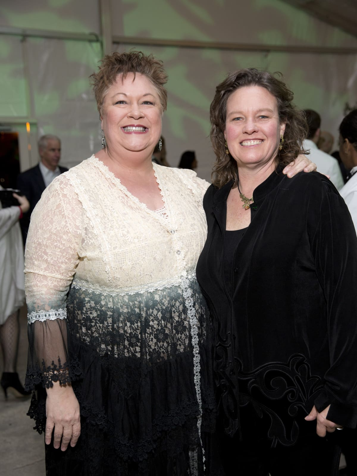 Memorial Park Conservacy Gala, Feb. 2016, Tina Sabuco, Shellye Arnold