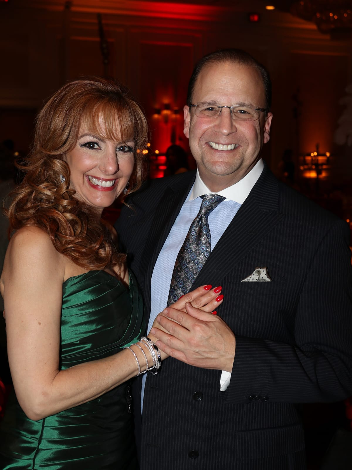 Seven Acres gala, Feb. 2016, Carole Fawcett, Michael Wiesenthal