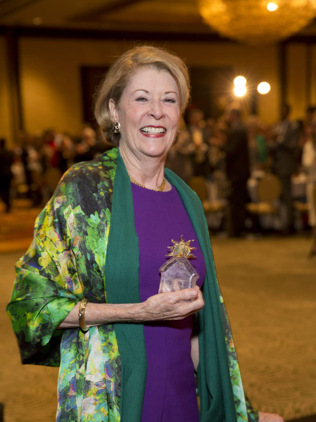 Bo's Place Luncheon, Feb. 2016, Peggy Roe