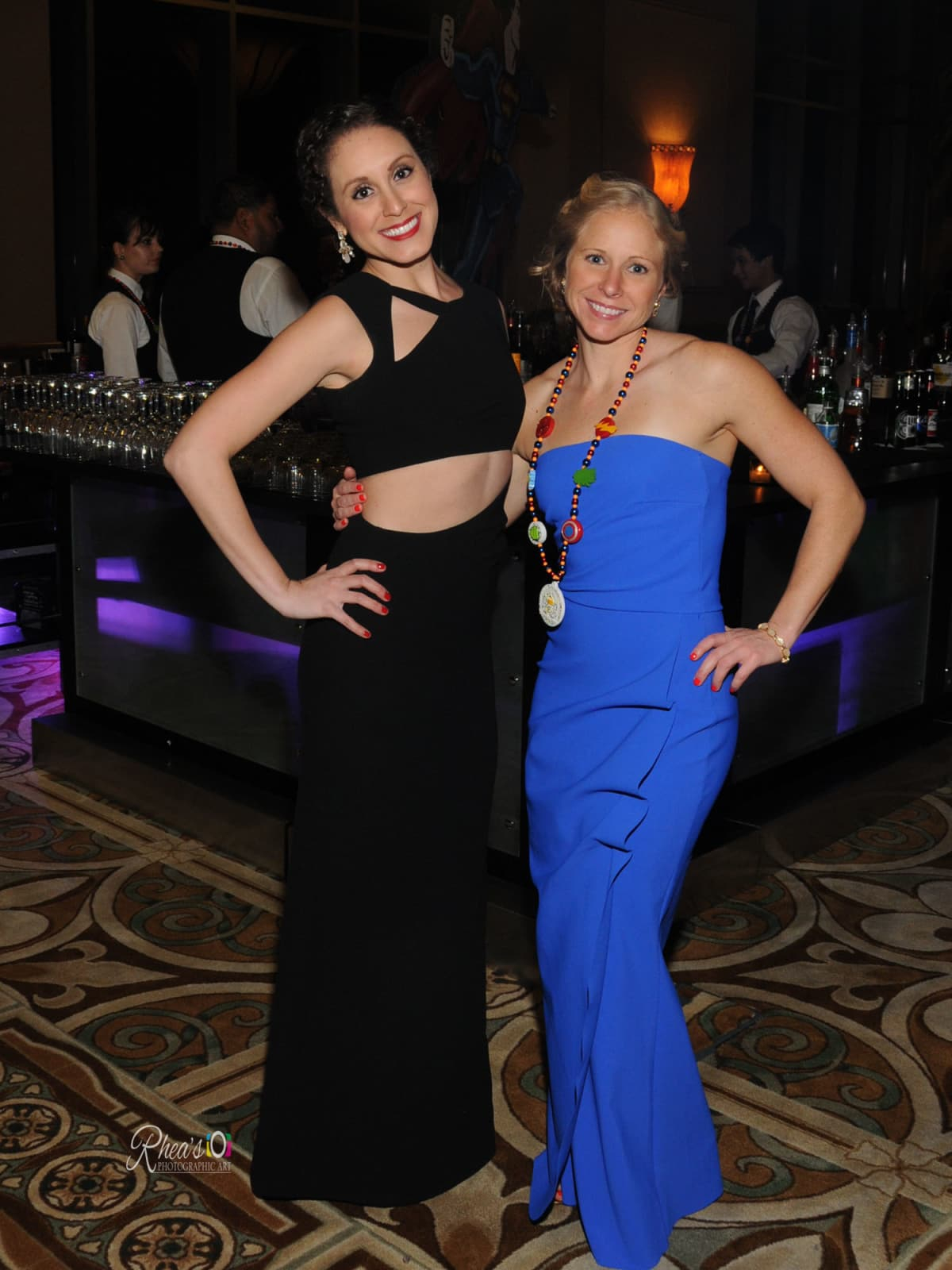 Knights of Momus Ball, Feb. 2016, Carolina Gomez, Kara Mullins