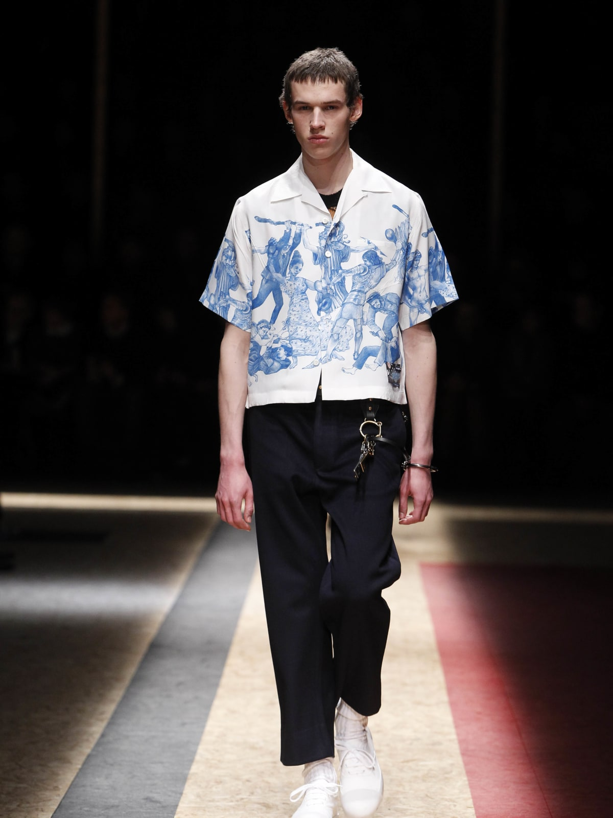 Prada menswear show in Milan January 2016