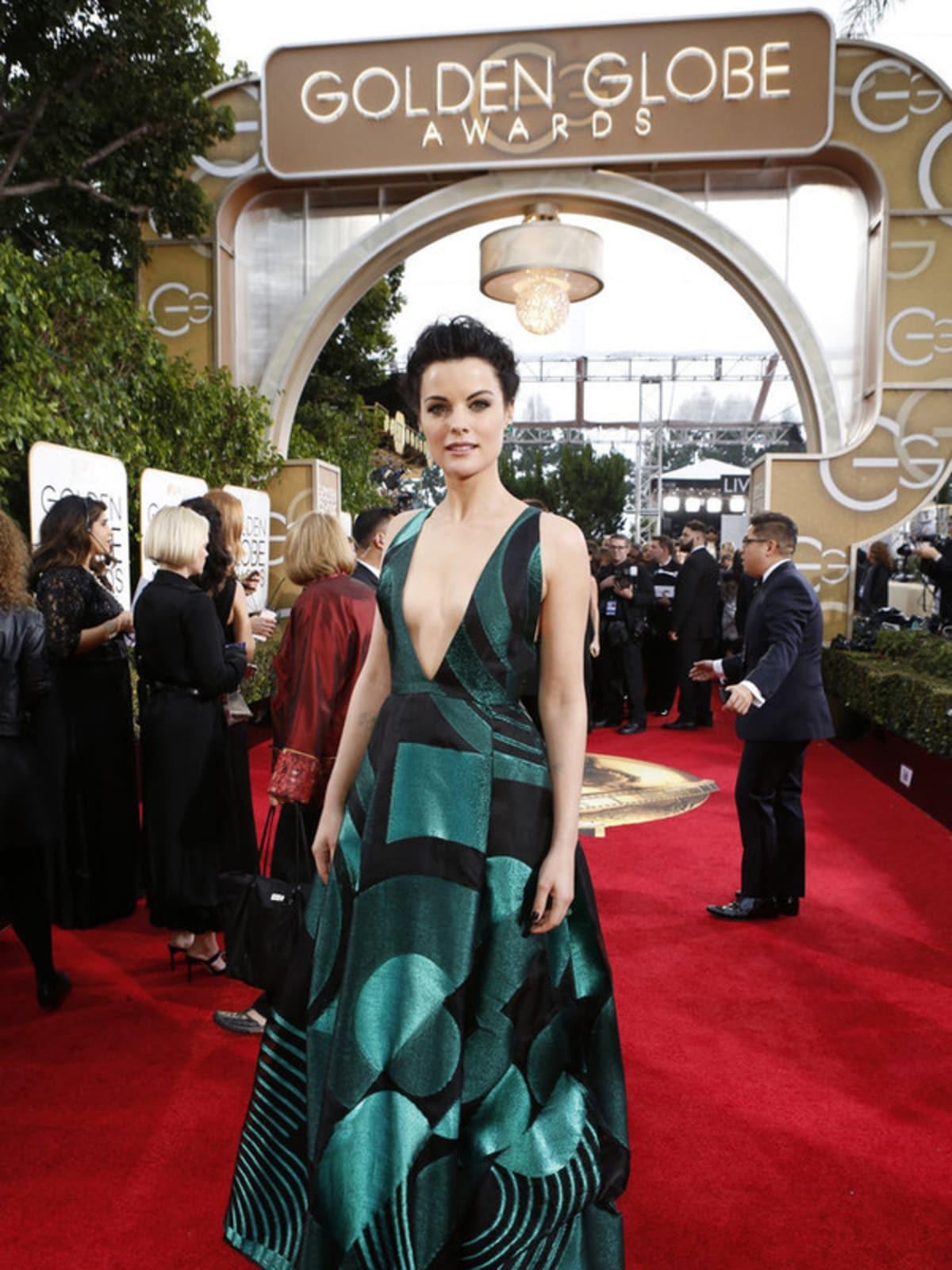 Jaimie Alexander at Golden Globe Awards