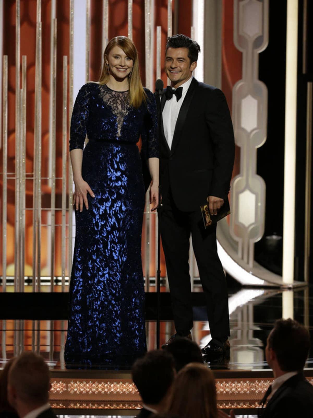 Dallas Bryce Howard at Golden Globe Awards