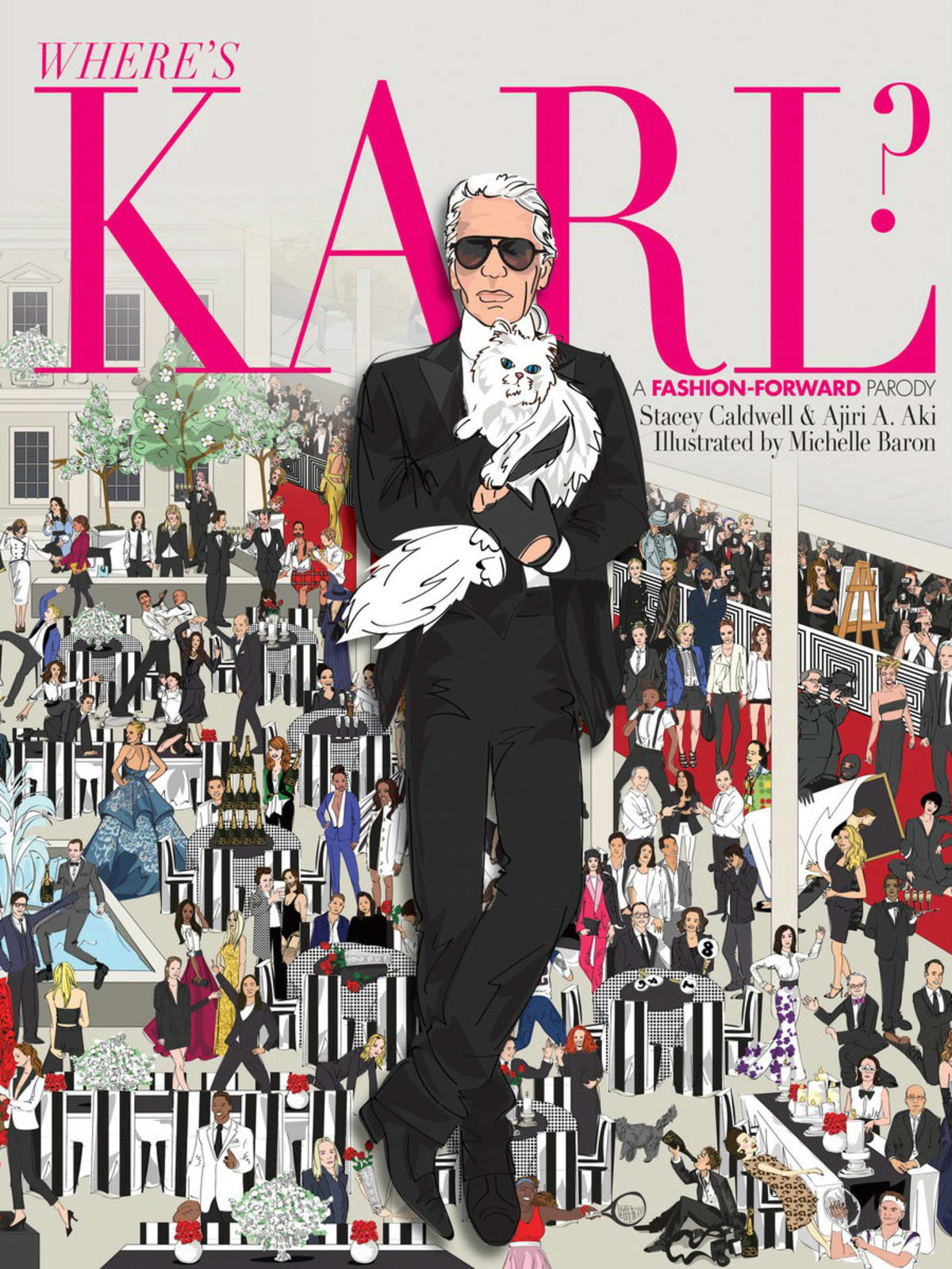 Where's Karl book jacket