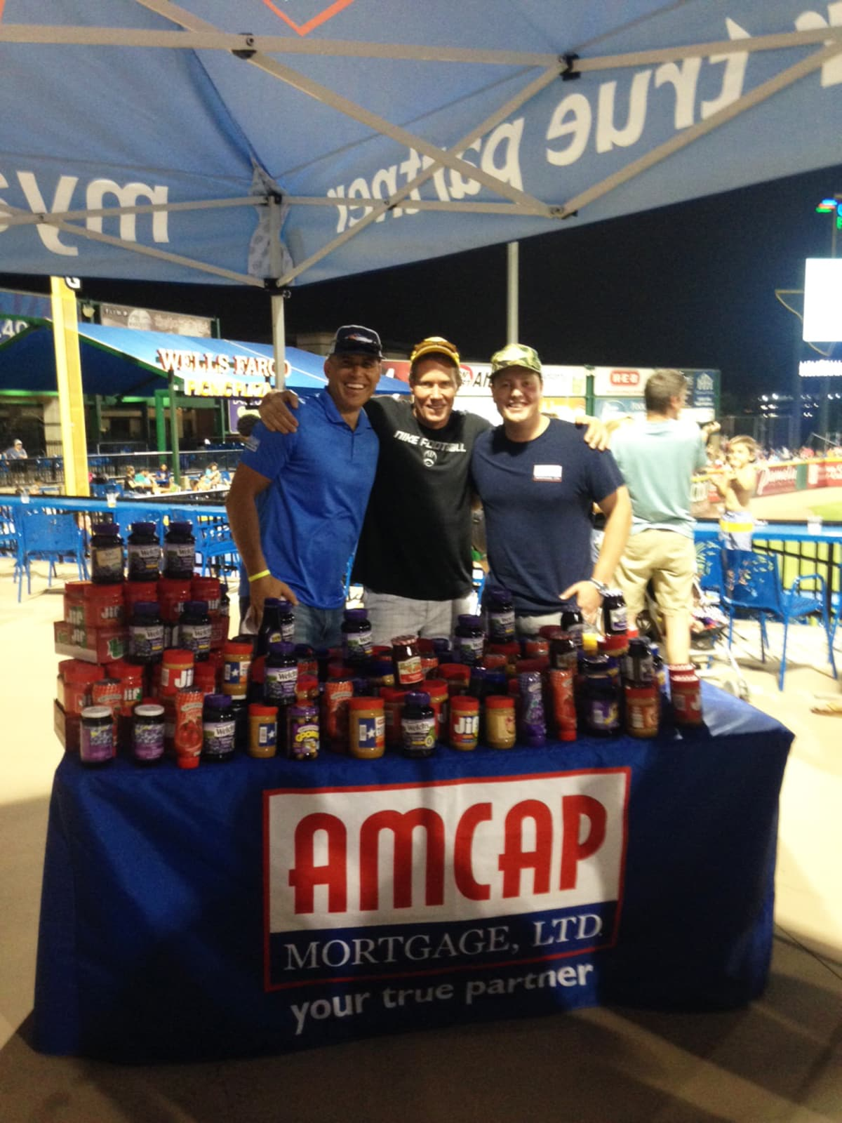 Team PB&J Drive fundraiser AmCap Promoted Series