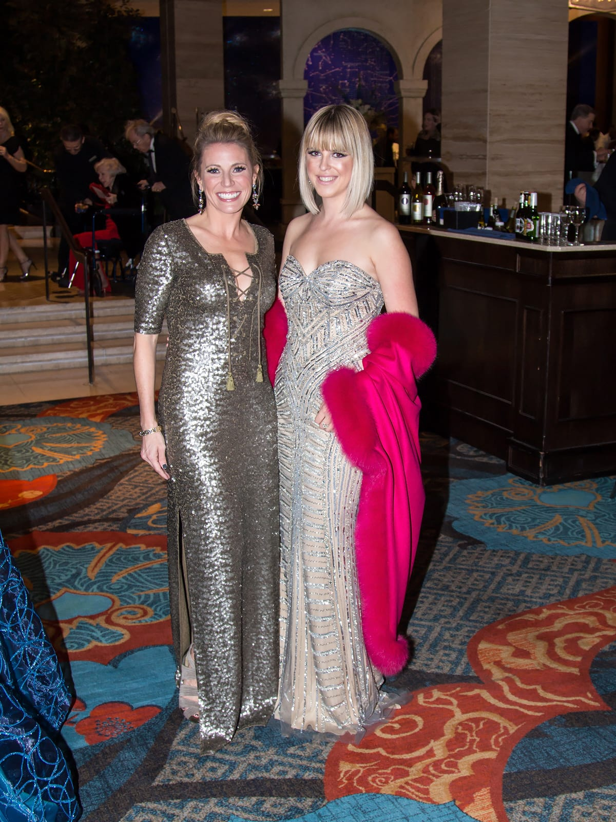 Susan Glassmoyer in Calypso, Elizabeth Fisher in Jovani