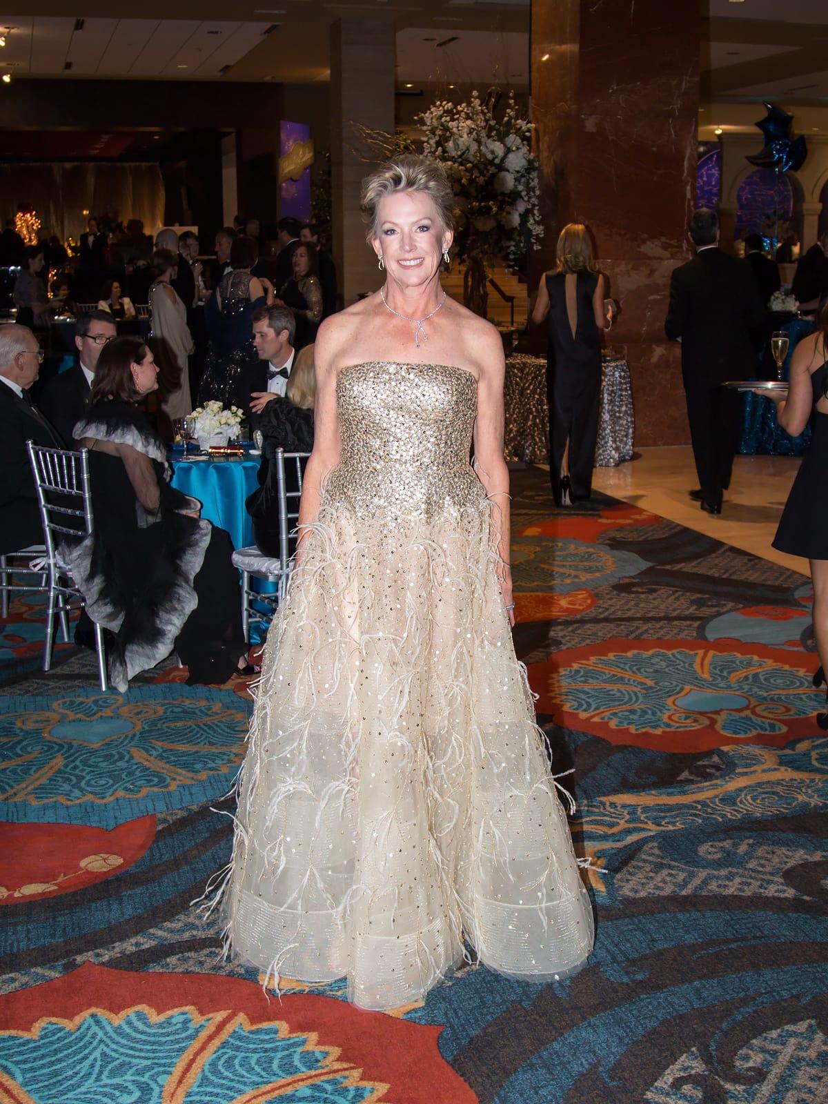 Best-dressed Dallas ladies radiate elegance at Crystal Charity Ball ...