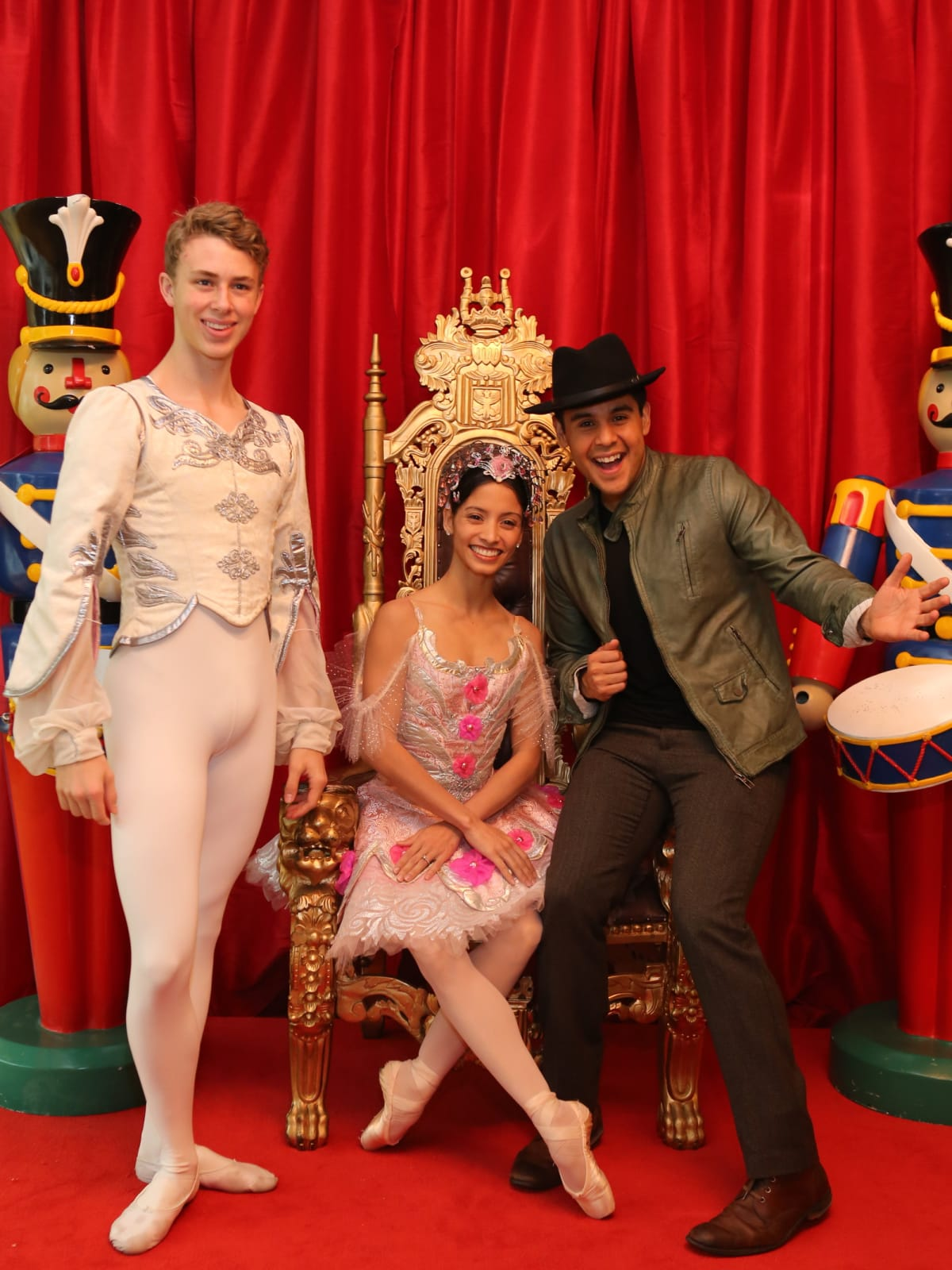 News, Houston Ballet Kingdom of Sweets , Dec. 2015, Ruben Galvan