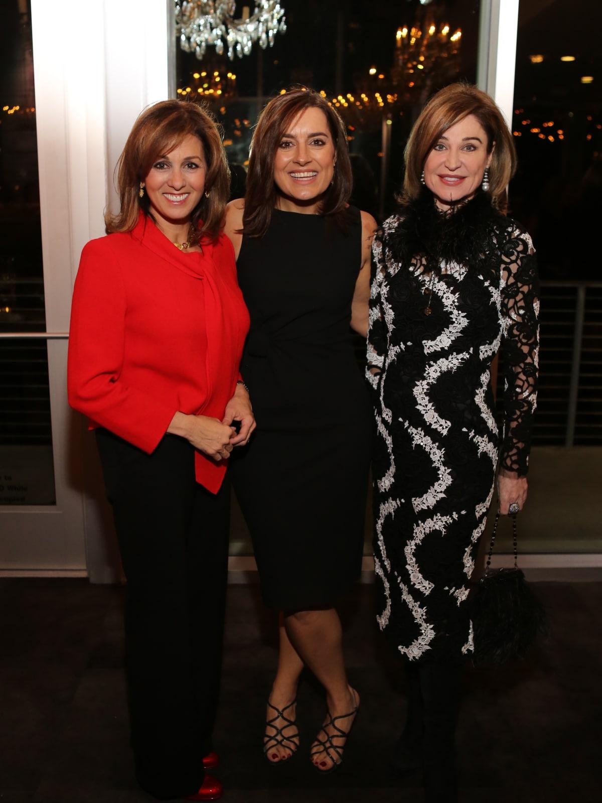 News, Equinox Opening Dinner, Dec. 2015, Janet Shamlian, Sarah Robb O'Hagan, Becca Cason Thrash