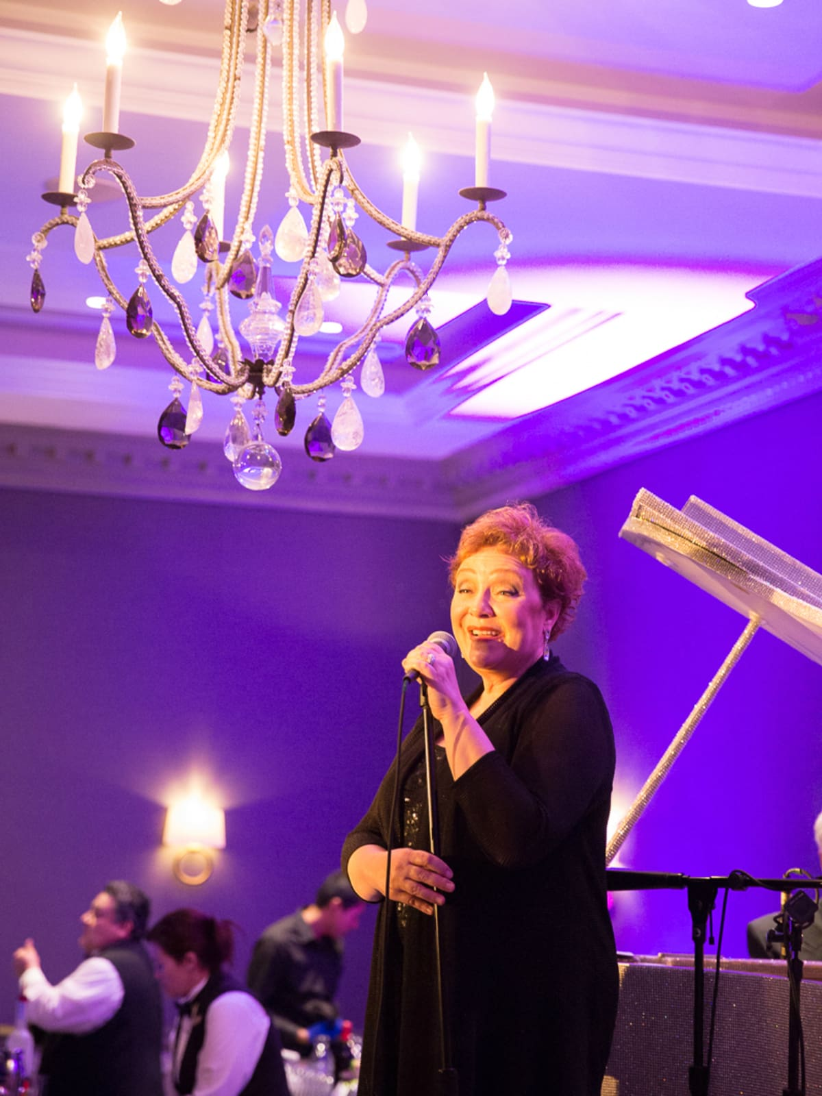 The Saint Anthony Hotel San Antonio Grand Reopening 2015 Sharon Montgomery singer