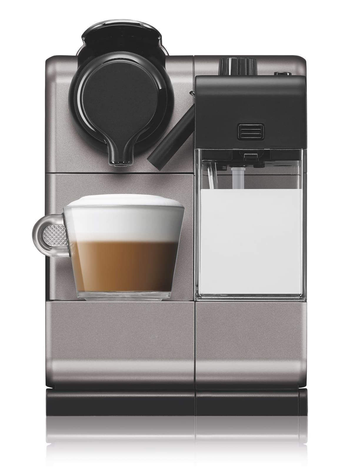 Nespresso Lattissima Touch in titanium