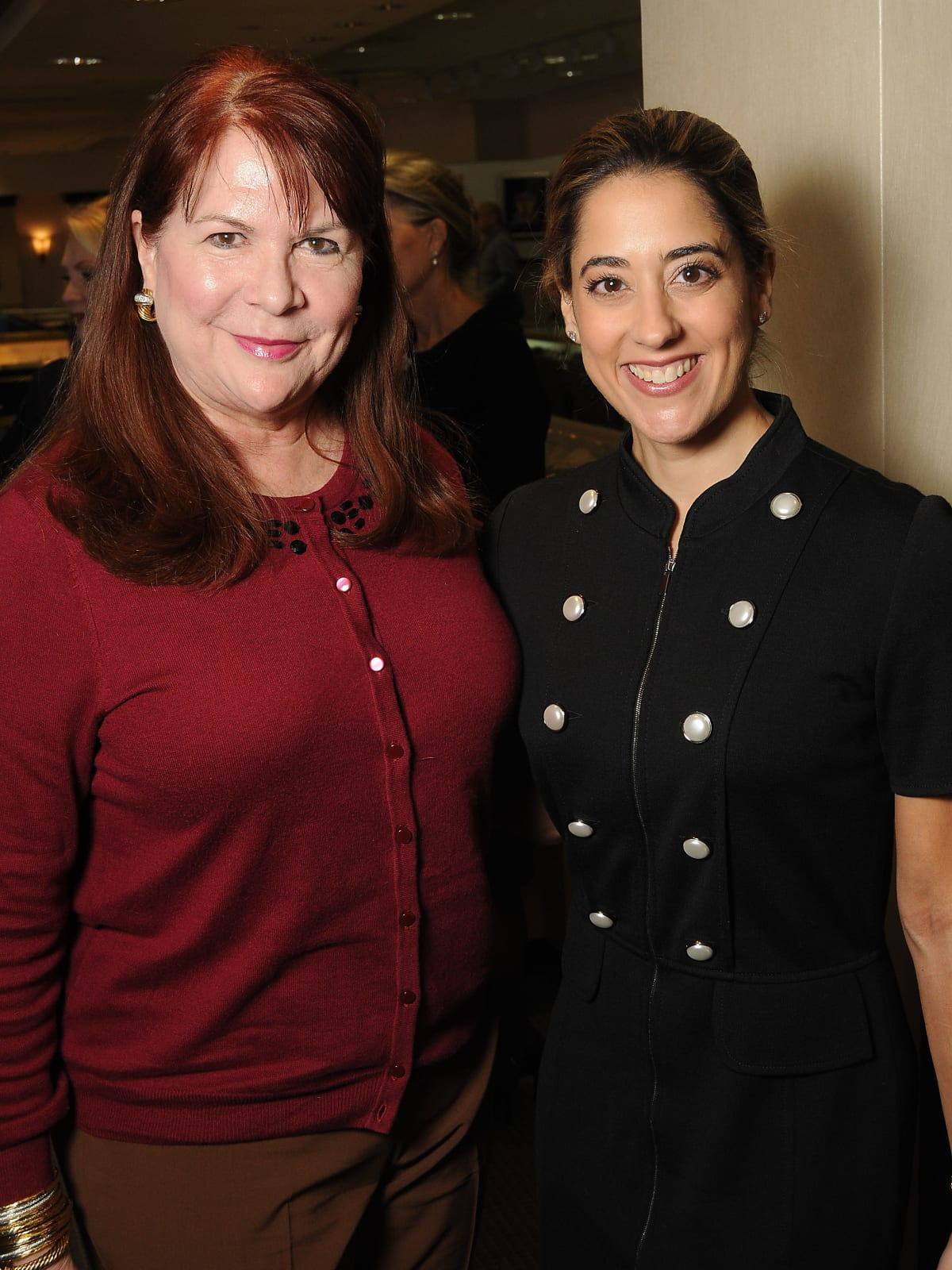 News, Shelby, HGO Luncheon, Nov. 2015 Barbara Van Postman, Kristina Somerville