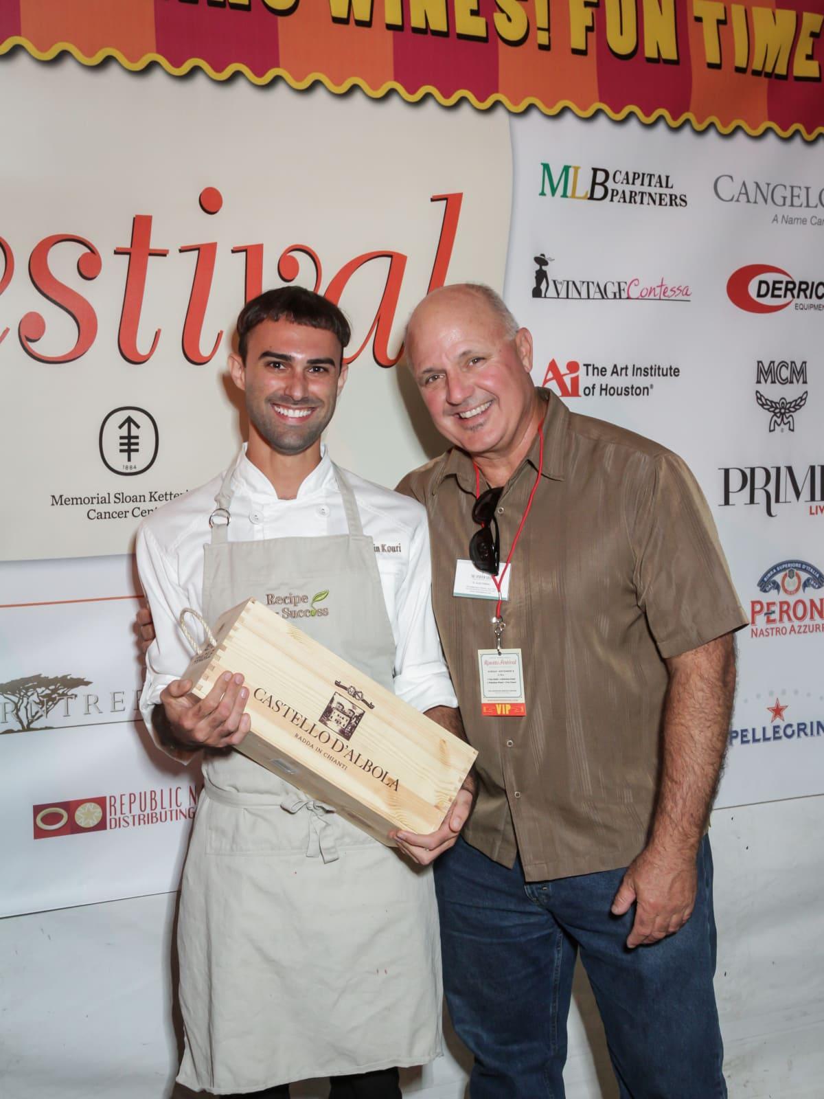 Risotto Festival Justin Kouri and Scott Follmar