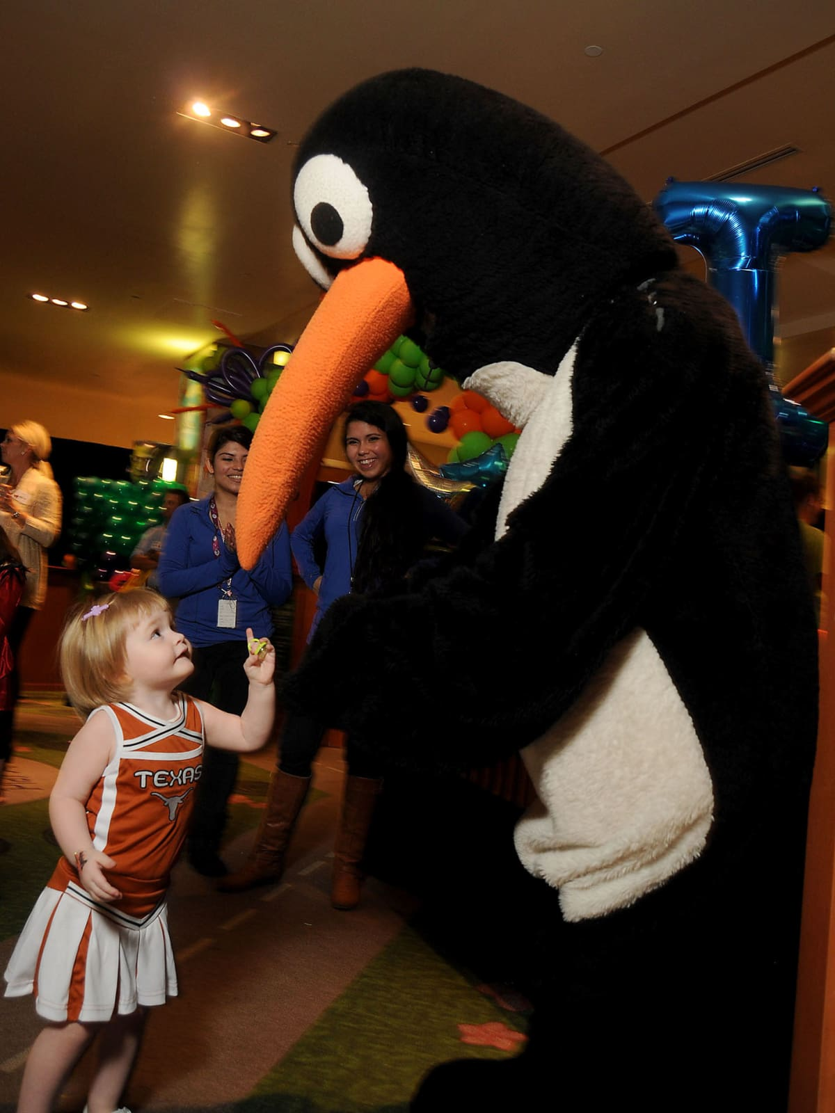 MD Anderson Halloween at the Galleria Emmy Wallace
