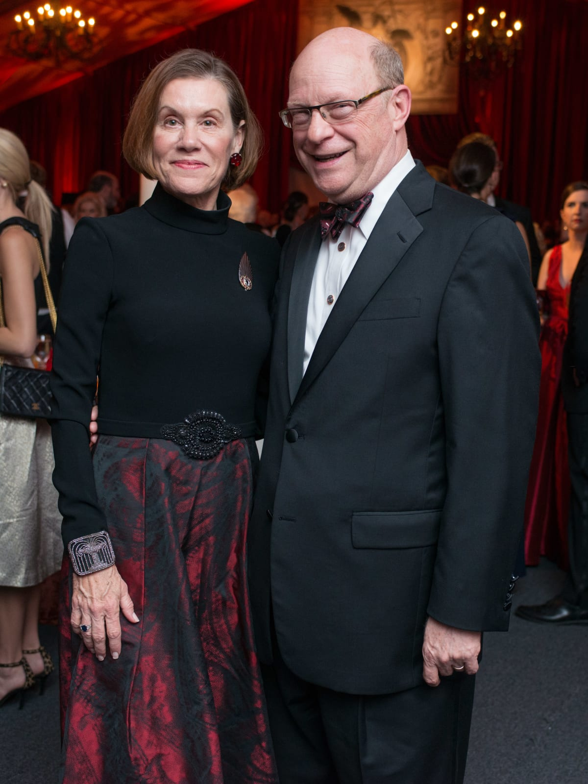 News, Shelby, HGO opening night, Oct. 2015, Susan Pennebaker, Ward Pennebaker