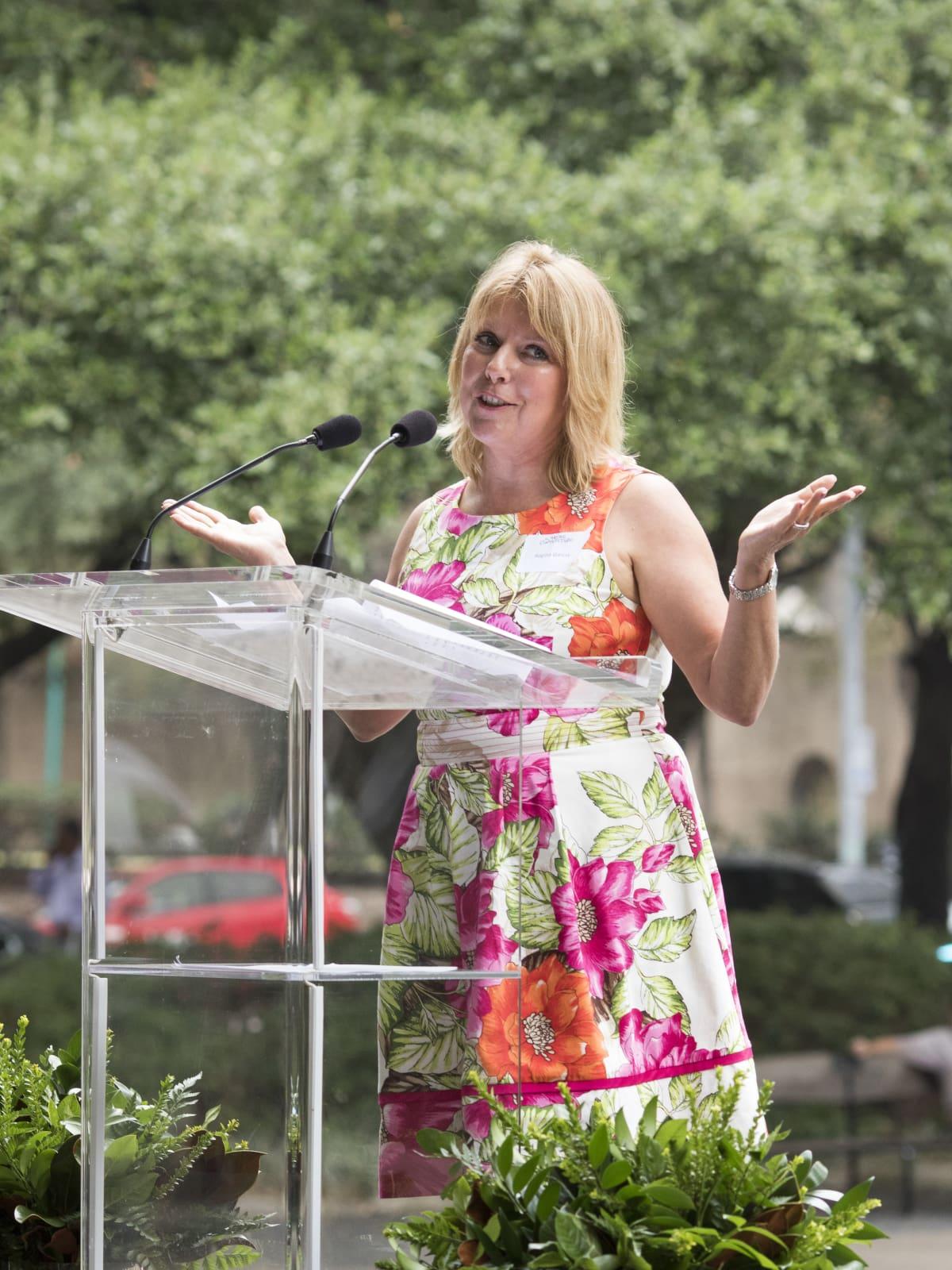 Houston Parks Board Luncheon Regina Garcia