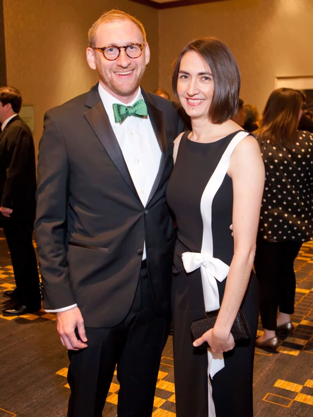 Ed Schneider and Toni Oplt at Planned Parenthood Gala