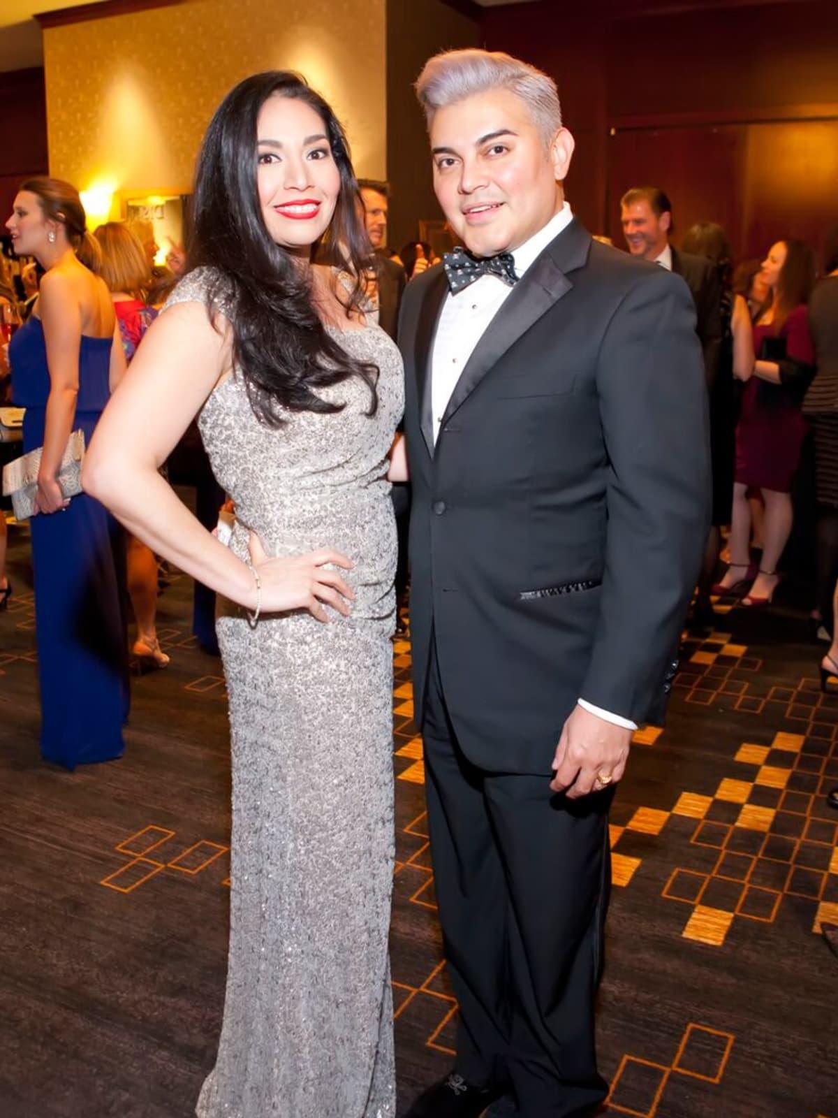 Enid Sanchez and Edward Sanchez at Planned Parenthood Gala