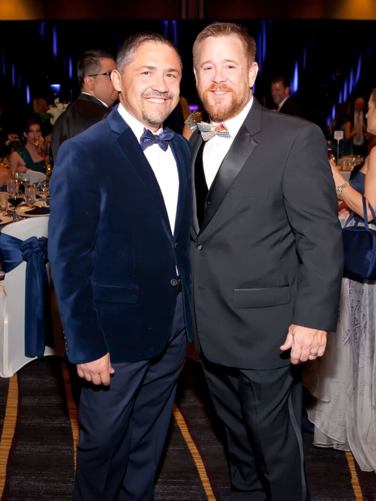 Bruce Padilla and Shelby Kibodeaux at Planned Parenthood Gala