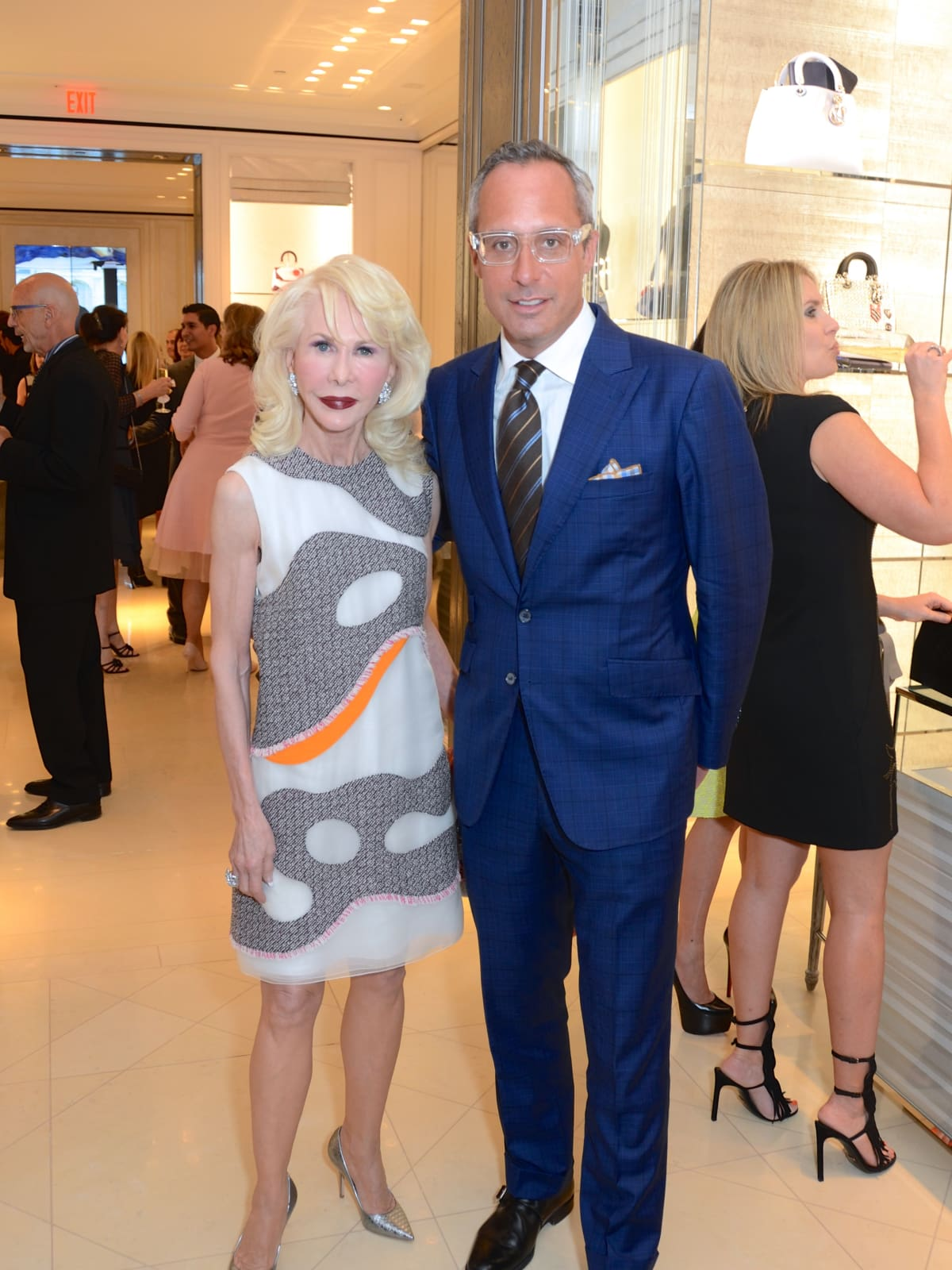 News, Shelby, Dior opening, Diane Lokey Farb, Mark Sullivan