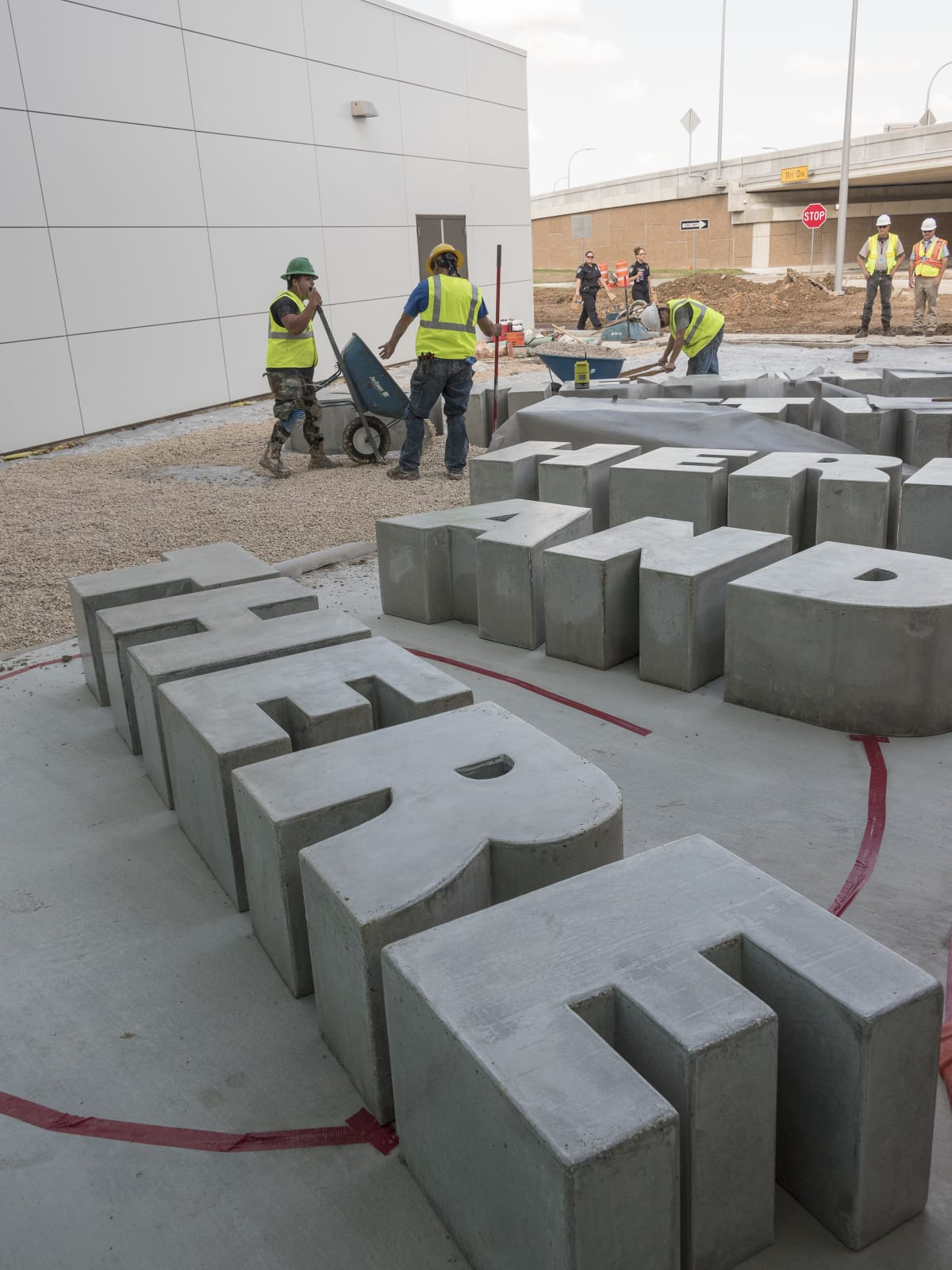 Hobby Airport art sculpture name to come