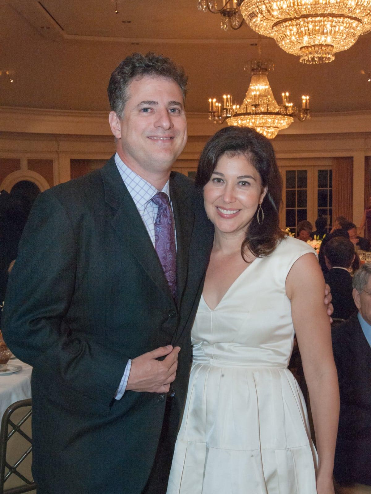 Houston, River Oaks Chamber Orchestra Gala, October 2015, Benjamin and Jennifer Fink