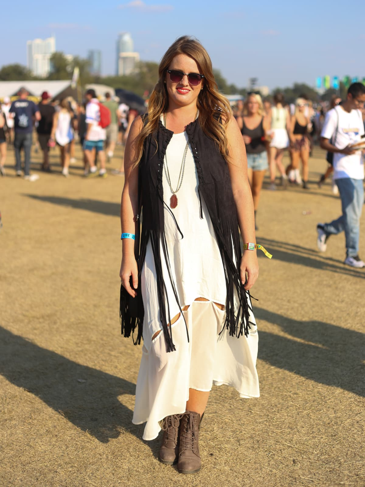 Austin City Limits Festival ACL 2015 Street Style Rebecca Hawkins