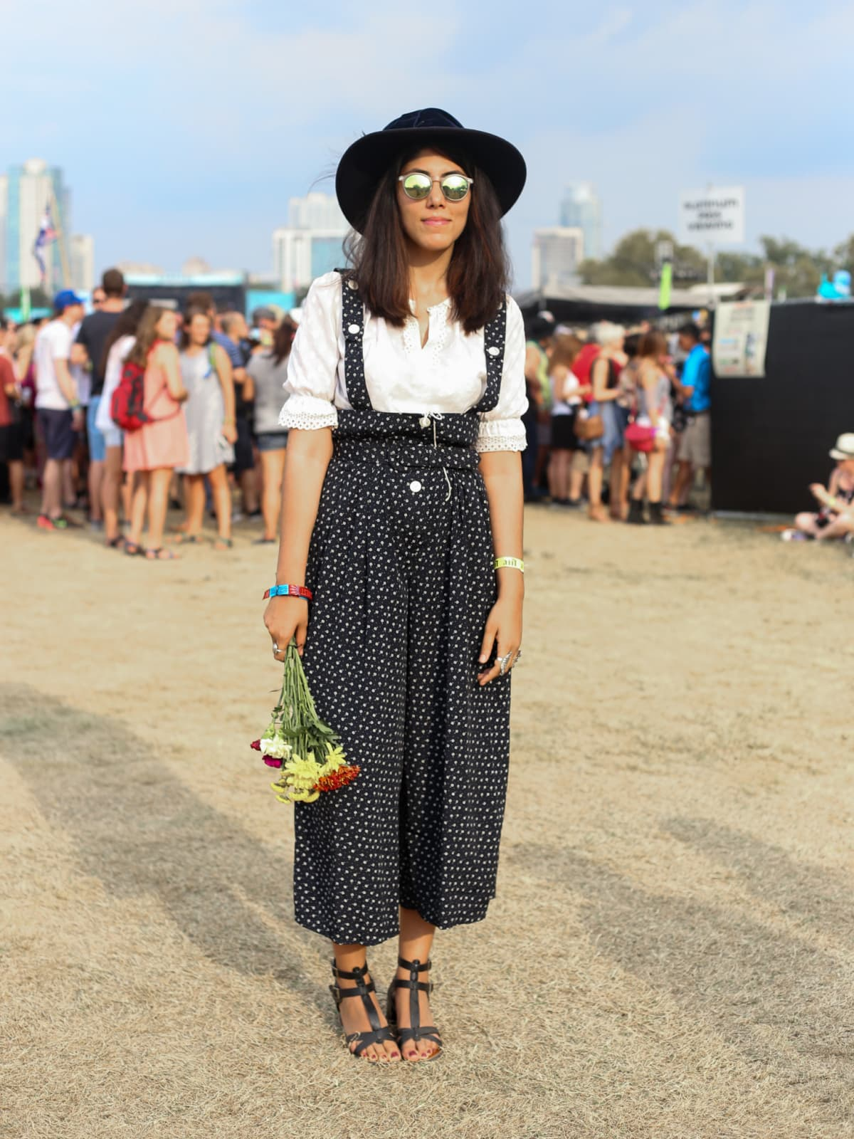 Austin City Limits Festival ACL 2015 Street Style Olivia Harrington