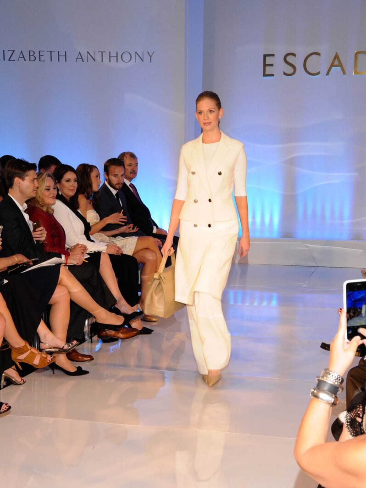 Escada runway show at Elizabeth Anthony Generations of Glamour