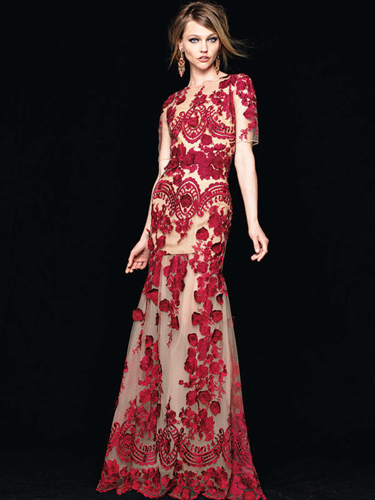 Marchesa Notte gown at Neiman Marcus