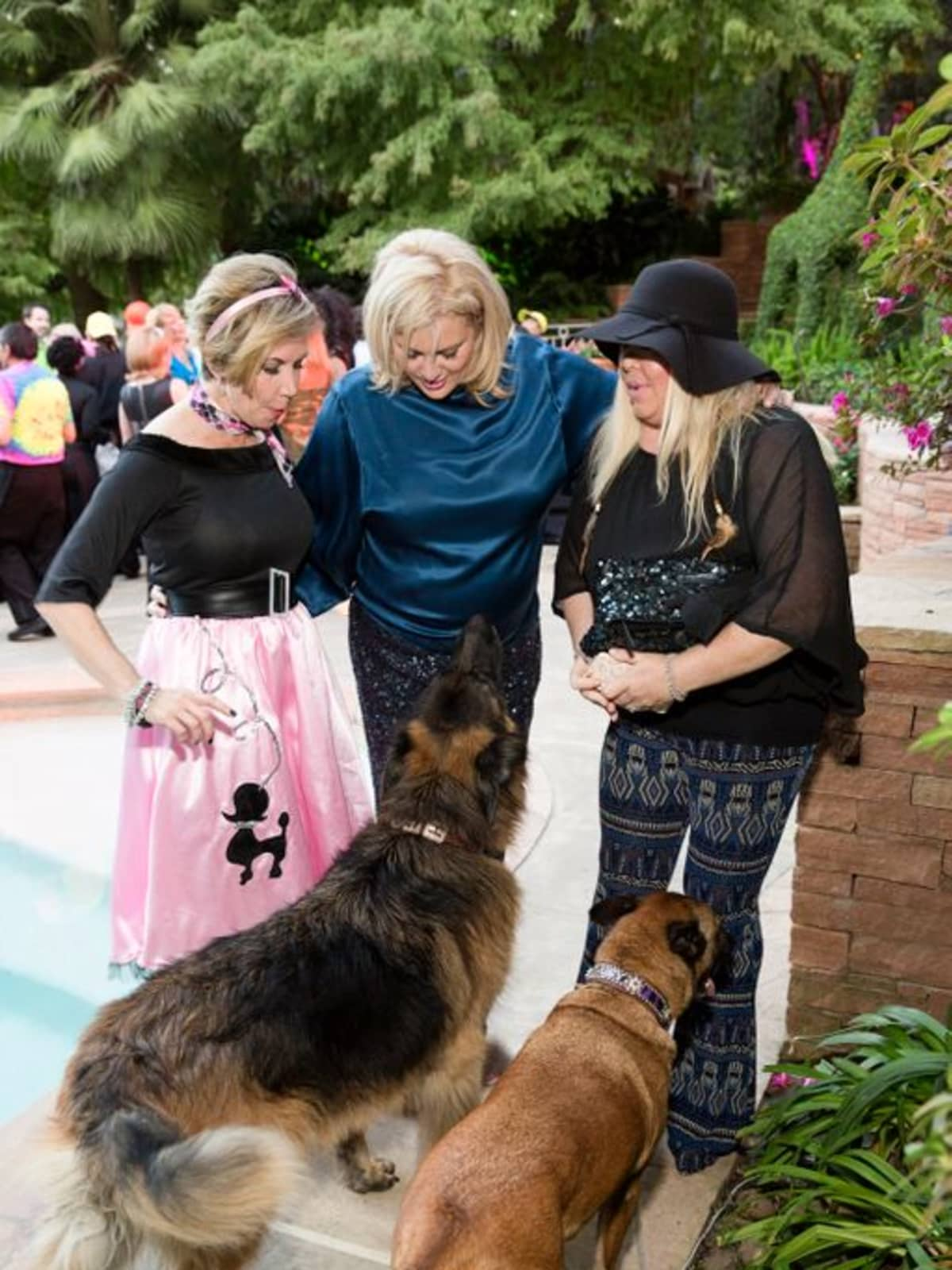 Bayou Preservation Gala 2015 Rosanne Rogers, Kristi Schiller & Lara Bell