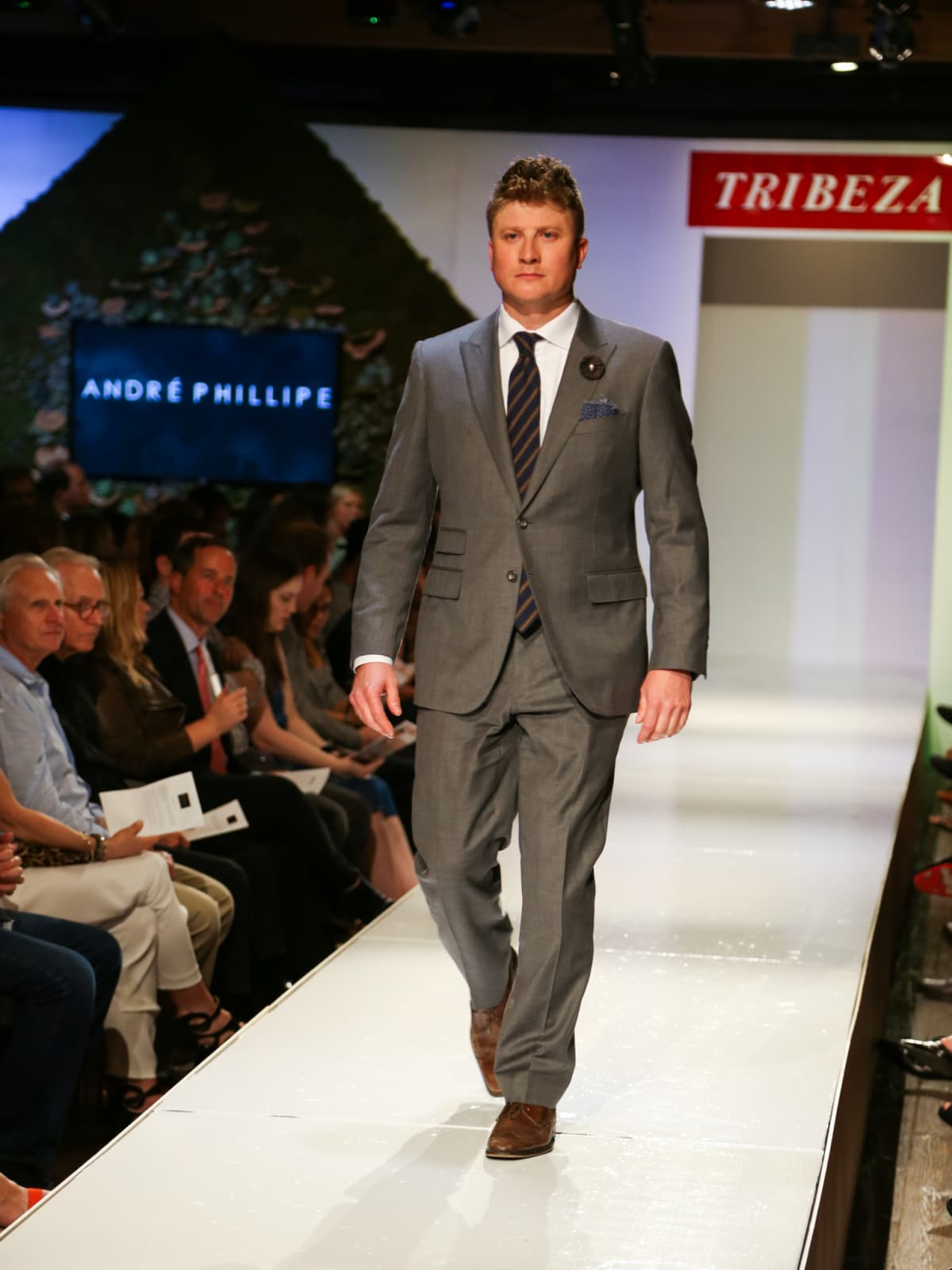 Tribeza Fashion Show 2015 at Brazos Hall Andre Phillipe