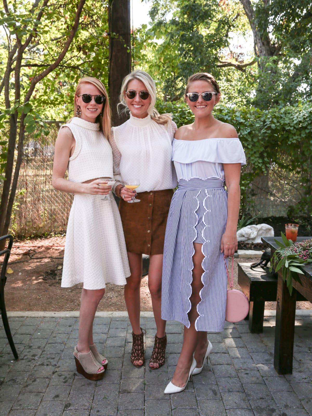 Tribeza Style Brunch 2015 at Justine's Brasserie Caroline Gaines Kristen Kilpatrick Suzanne Negley