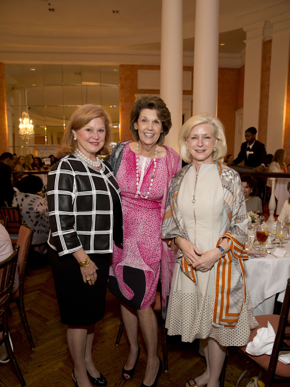 News, Shelby, Small Steps luncheon, Sept. 2015, Jan Duncan, Lilly Andress, Ann Bookout